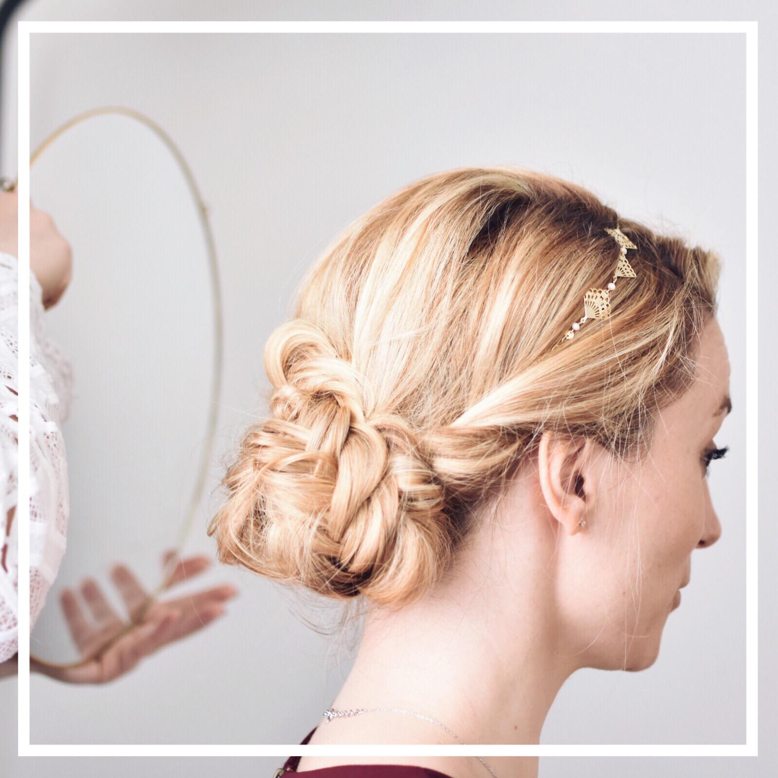 Essai maquillage et coiffure et Jour J mariage