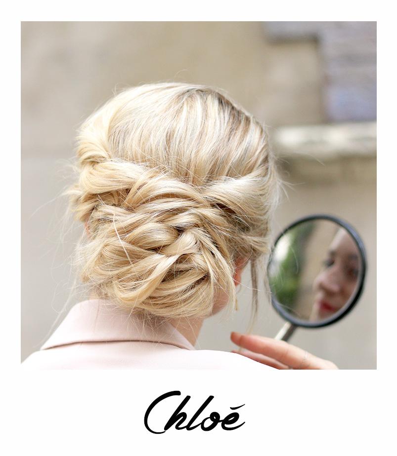 Chloé coiffure tendance du mois - bar à coiffures modes - paris - bar à tresse paris