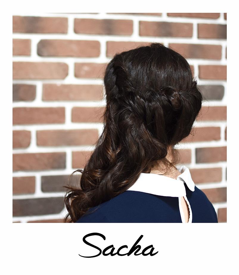 Sacha coiffure tendance du mois bar à coiffures paris