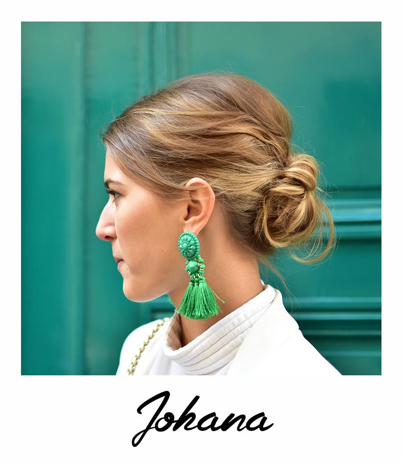 Johana coiffure tendance du mois bar à coiffures paris