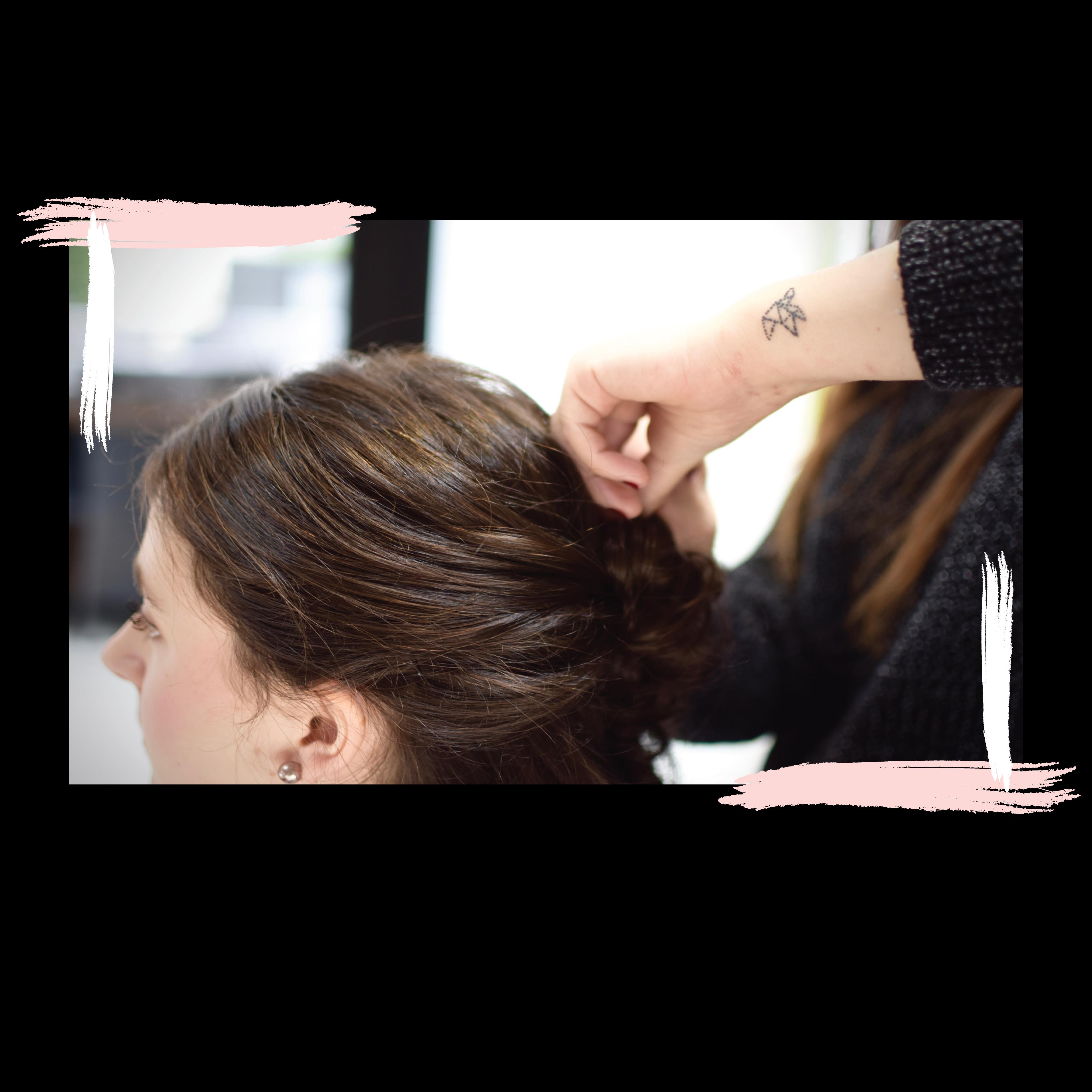 Atelier coiffure entre amies
