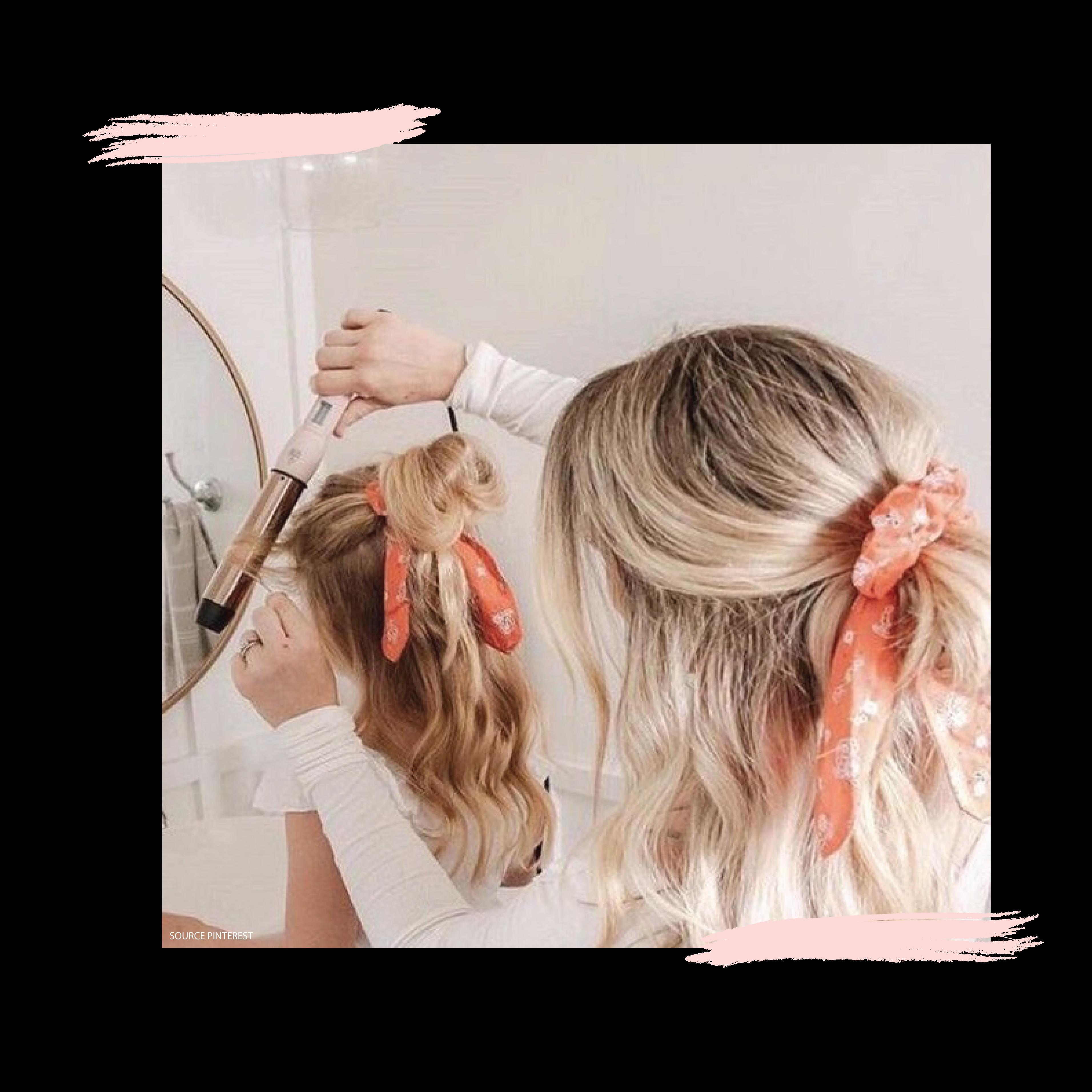 Atelier coiffure mère/fille
