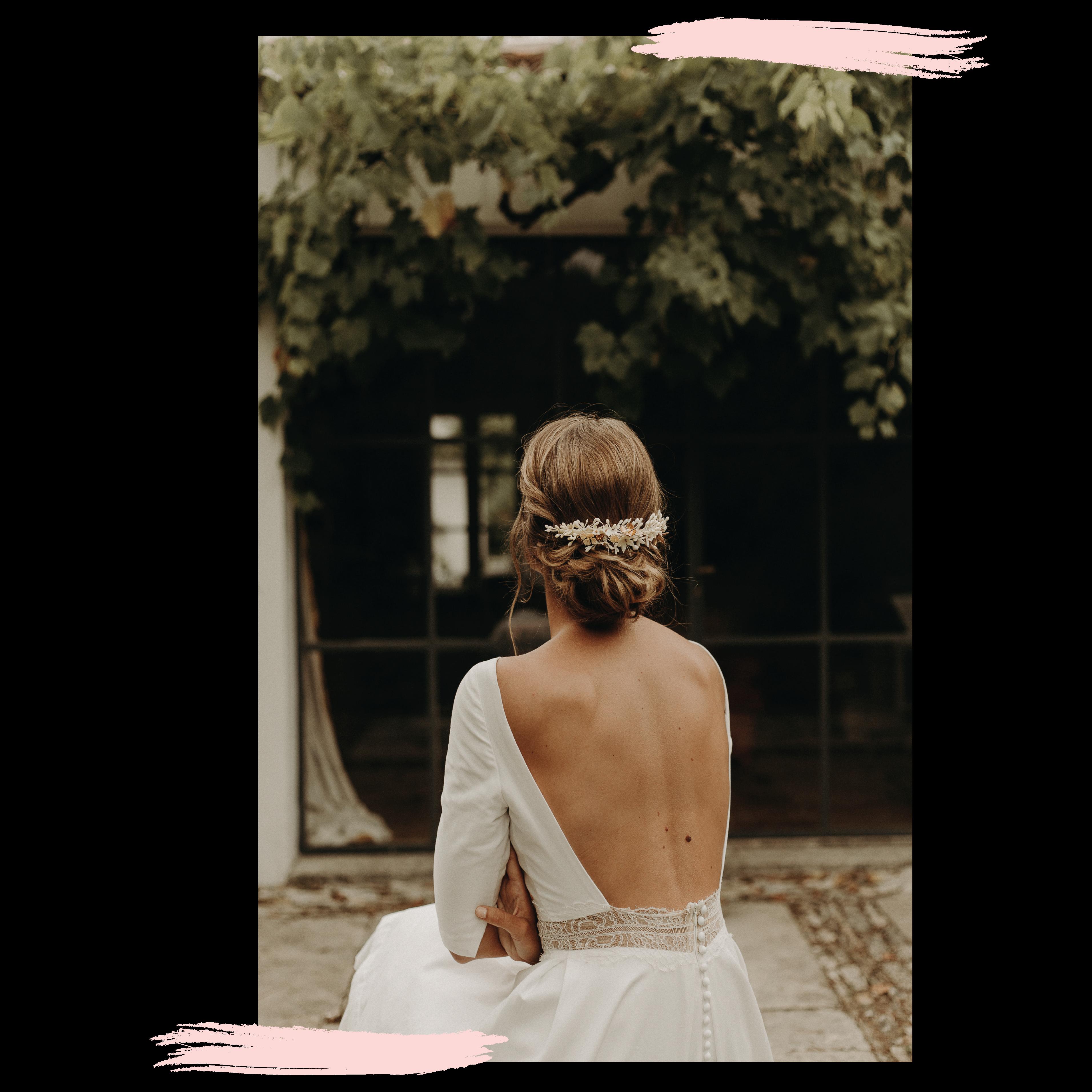 Essai coiffures et Jour J mariage